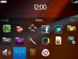 BlackBerry 9900 Bold Touch - Bellen - in het buitenland - Stap 3