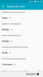 Samsung Galaxy S4 LTE - Email - Adicionar conta de email -  7