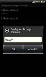 HTC S510e Desire S - Internet - Configuration manuelle - Étape 17