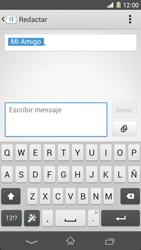 Sony Xperia Z1 - Mensajería - Escribir y enviar un mensaje multimedia - Paso 10