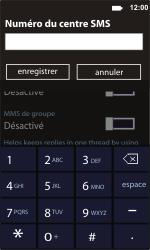Samsung I8350 Omnia W - SMS - configuration manuelle - Étape 6