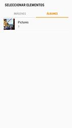 Samsung Galaxy S6 - Android Nougat - Mensajería - Escribir y enviar un mensaje multimedia - Paso 15