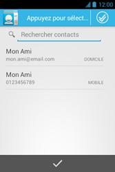 Bouygues Telecom Bs 351 - Contact, Appels, SMS/MMS - Envoyer un SMS - Étape 6