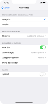 Apple iPhone XS Max - Email - Configurar a conta de Email -  23