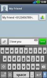 LG P970 Optimus Black - Mms - Sending a picture message - Step 5