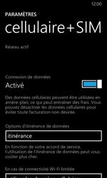 Nokia Lumia 630 - Internet - Désactiver du roaming de données - Étape 5