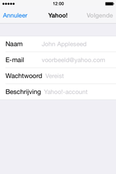 Apple iPhone 4 S iOS 7 - E-mail - Handmatig instellen (yahoo) - Stap 6