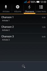 Alcatel OT-4015X Pop C1 - Photos, vidéos, musique - Ecouter de la musique - Étape 5