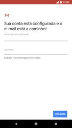 Google Pixel 2 - Email - Como configurar seu celular para receber e enviar e-mails - Etapa 11