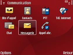 Nokia E63 - MMS - Configuration automatique - Étape 5