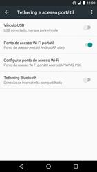 LG Google Nexus 5X - Wi-Fi - Como usar seu aparelho como um roteador de rede wi-fi - Etapa 9