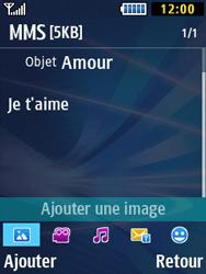 Samsung Solid 271 - Contact, Appels, SMS/MMS - Envoyer un MMS - Étape 13