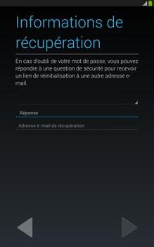 Samsung Galaxy Tab 3 8 4G - Premiers pas - Créer un compte - Étape 19