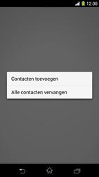 Sony Xperia Z1 4G (C6903) - Contacten en data - Contacten kopiëren van toestel naar SIM - Stap 9