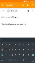 Alcatel Shine Lite - E-mail - Hoe te versturen - Stap 10