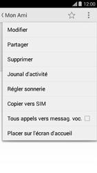 Bouygues Telecom Ultym 5 II - Contact, Appels, SMS/MMS - Ajouter un contact - Étape 8