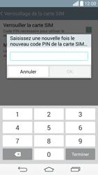 LG D855 G3 - Sécuriser votre mobile - Personnaliser le code PIN de votre carte SIM - Étape 12