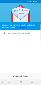 Samsung Galaxy S8 - Android Oreo - E-mail - Configuration manuelle (gmail) - Étape 5