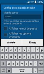 Samsung Galaxy Trend 2 Lite - Internet et connexion - Partager votre connexion en Wi-Fi - Étape 9