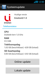 Huawei Ascend Y300 - Software updaten - Update installeren - Stap 6
