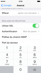 Apple iPhone 5c - E-mail - Configurer l