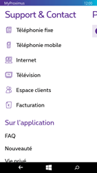 Microsoft Lumia 535 - Applications - MyProximus - Étape 22