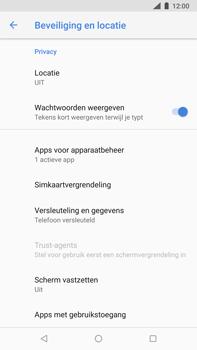 Nokia 8-sirocco-ta-1005 - Beveiliging en ouderlijk toezicht - Hoe wijzig ik mijn SIM PIN-code - Stap 5