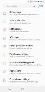 Samsung Galaxy A6 - Sécuriser votre mobile - Activer le code de verrouillage - Étape 4