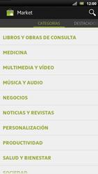 Sony Xperia U - Aplicaciones - Descargar aplicaciones - Paso 13