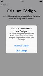 Apple iPhone 8 - Primeiros passos - Como ativar seu aparelho - Etapa 15