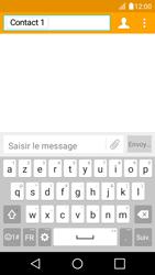 LG K4 - Contact, Appels, SMS/MMS - Envoyer un SMS - Étape 8
