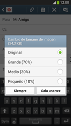 Samsung Galaxy S4 - E-mail - Escribir y enviar un correo electrónico - Paso 16