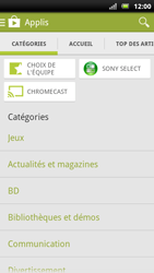 Sony Ericsson Xpéria Arc - Applications - Télécharger une application - Étape 6