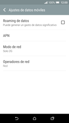 HTC One A9 - Red - Seleccionar el tipo de red - Paso 7