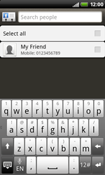 HTC S510b Rhyme - MMS - Sending pictures - Step 5