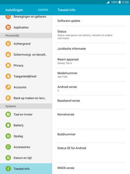 Samsung Galaxy Tab A 9.7 (SM-T555) - Software updaten - Update installeren - Stap 5