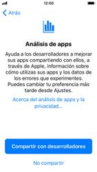 Apple iPhone SE iOS 11 - Primeros pasos - Activar el equipo - Paso 25