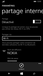 Nokia Lumia 735 - Internet et connexion - Partager votre connexion en Wi-Fi - Étape 6