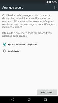 Huawei Google Nexus 6P - Segurança - Como ativar o código de bloqueio do ecrã -  7