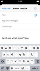 Apple iPhone SE - iOS 13 - E-mail - Bericht met attachment versturen - Stap 4