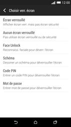 HTC One (M8) - Sécuriser votre mobile - Activer le code de verrouillage - Étape 6