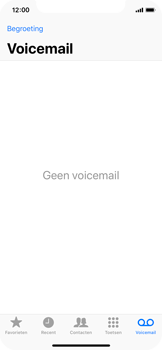 Apple iPhone X - Voicemail - Visual Voicemail - Stap 14