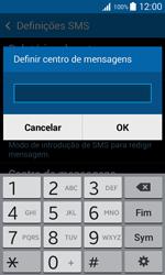 Samsung Galaxy Trend 2 Lite - SMS - Como configurar o centro de mensagens -  8