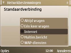 Nokia E72 - Internet - handmatig instellen - Stap 19