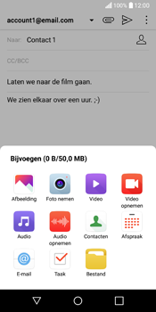 LG Q6 (LG M700n) - E-mail - Hoe te versturen - Stap 12