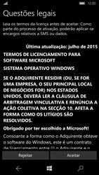 Microsoft Lumia 950 - Primeiros passos - Como ligar o telemóvel pela primeira vez -  8