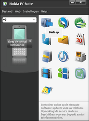 Nokia E51 - Software - Update installeren via PC - Stap 2