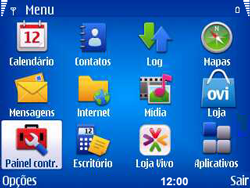 Nokia E5-00 - Bluetooth - Como ajustar configurações do Bluetooth - Etapa 3