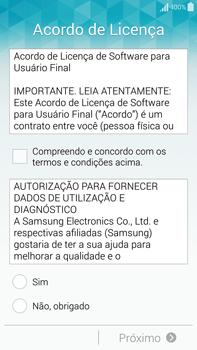 Samsung N910F Galaxy Note 4 - Primeiros passos - Como ativar seu aparelho - Etapa 7