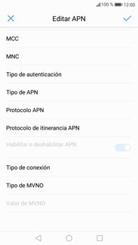 Huawei Mate 9 - Mensajería - Configurar el equipo para mensajes multimedia - Paso 11
